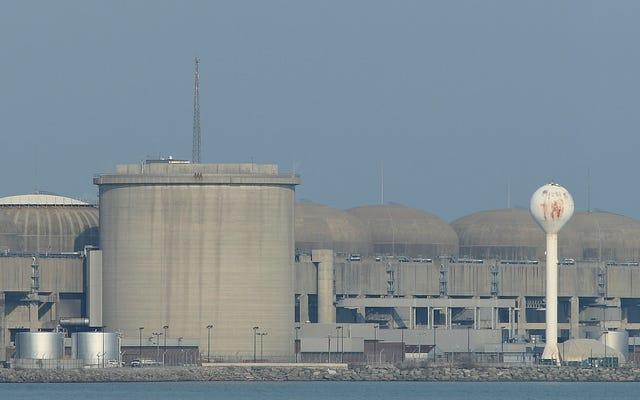 カナダの原子力発電所での「緊急事態」の警告が誤って送信された、当局者は言う