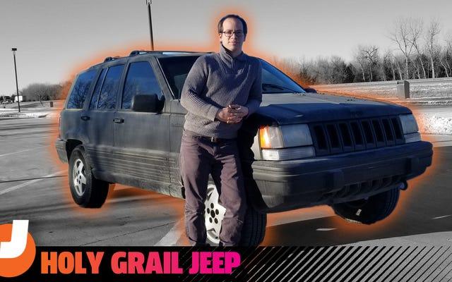 Tôi đã mua một chiếc Jeep Grand Cherokee 'Chén Thánh' 260.000 dặm mà không thể nhìn thấy từ giữa nơi nào. Đưa nó về nhà gần như chia tay tôi