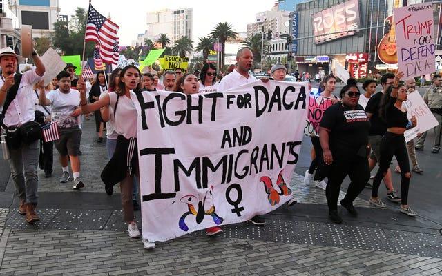 ホワイトハウスは、それが引き起こしたDACA危機の解決にはあまり関心がありません。