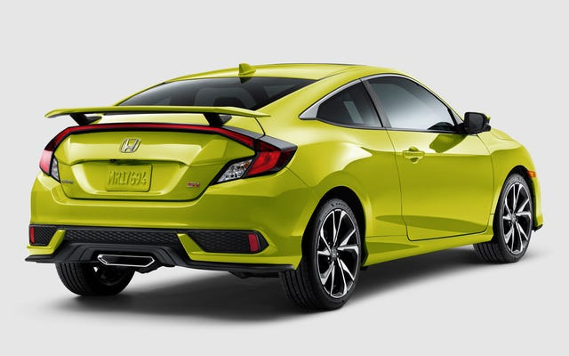 Honda Civic Si 2019 Mendapat Harga $ 200 dan Hadir dalam Warna Hijau Yang Memesona