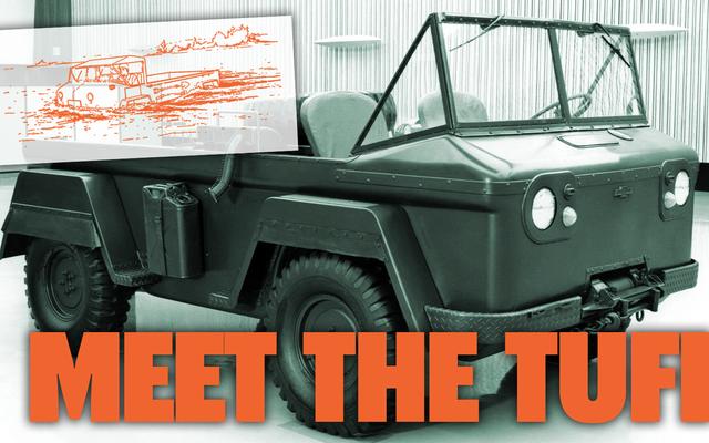 Chevy a une fois conçu un concurrent de Jeep amphibie hors du Corvair