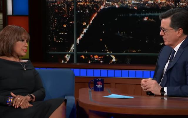 Dans The Late Show, Gayle King parle de garder son sang-froid face aux effondrements de R. Kelly et au racisme de Fox News