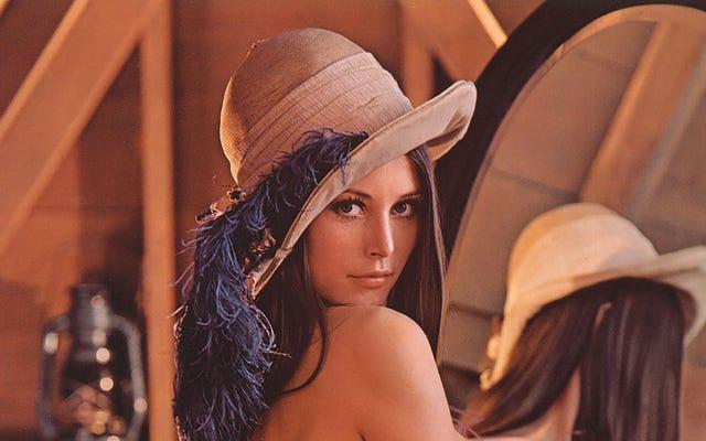 Playboyモデルの写真がオンラインの伝説になり、JPG形式の作成にどのように役立ったか