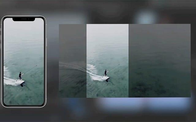 アドビの新しいAI搭載プラグインは、さまざまな形状の画面のビデオをインテリジェントにリフレームします