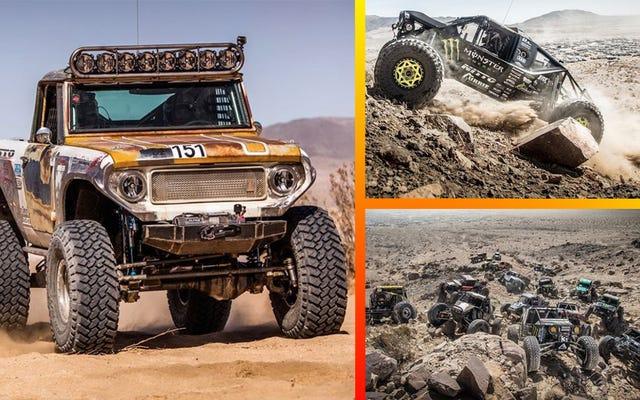ชมการแข่งขัน 4WD ที่ดุเดือดที่สุดของอเมริกาถ่ายทอดสดที่นี่ตลอดทั้งวัน