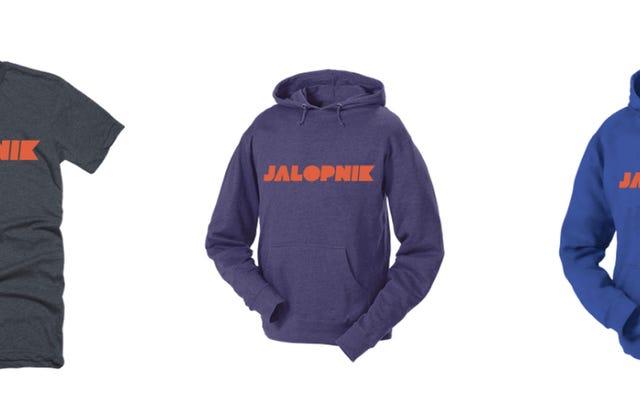 あなたがそれを要求したので:私たちはついにJalopnikSwag(ステッカーを含む)を販売しています