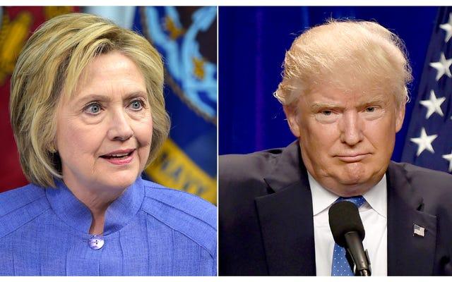 「いいえ、あなたは人種差別主義者の偏見です!」:クリントンとトランプの侮辱的なレース戦争はばかげています