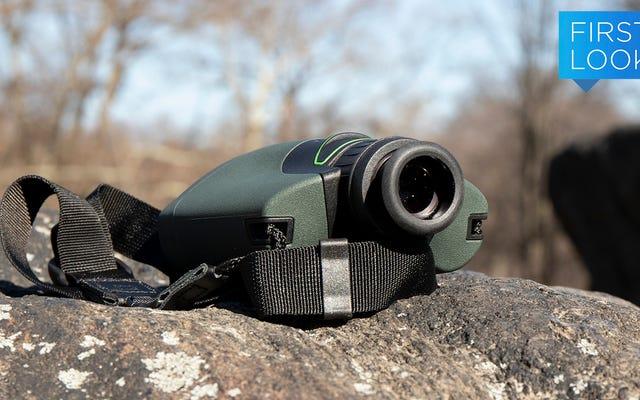 Questa elegante fotocamera combinata, monoculare e guida digitale ha fatto tutto il mio birdwatching per me
