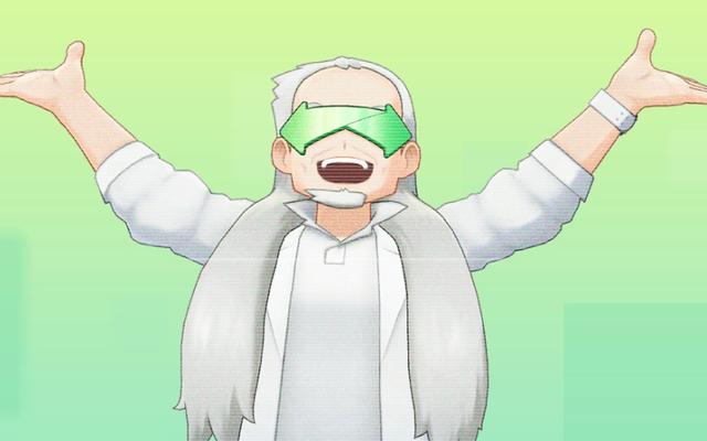 Internet phản ứng với giáo sư Oak mới của Pokémon Home