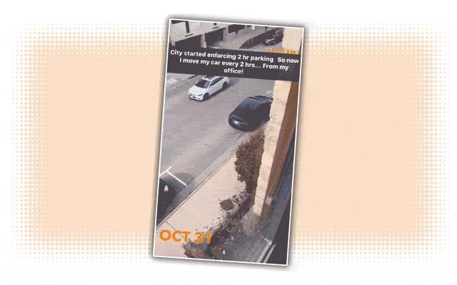 El propietario de Tesla usa 'Summon' para mover su automóvil de forma remota y evitar multas de estacionamiento