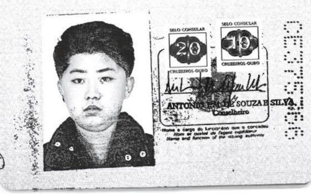 彼の名前はジョセフで、彼はサンパウロで生まれました。彼らはキム・ジョンウンが西を旅したときに使用した偽のパスポートをフィルタリングします。