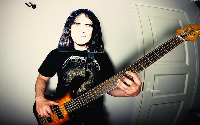 """Man kontynuuje poszukiwania coveru """"Enter Sandman"""", jak każdy inny metalowy zespół, wydając wersję Iron Maiden"""