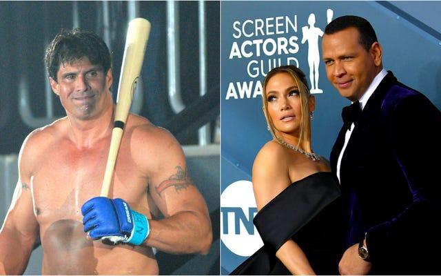Jose Canseco est une sorcière, a prédit avec précision Jennifer Lopez et Alex Rodriguez se séparer