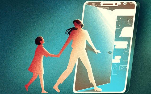 Comment présenter à votre enfant le monde sauvage des médias sociaux
