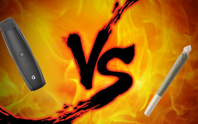 喫煙対決:Vape Pens vs.Joints