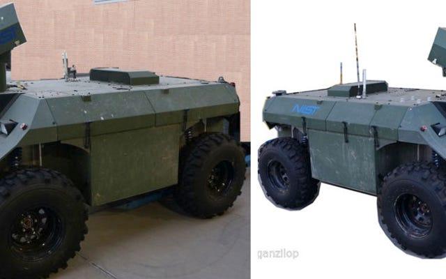 À vendre sur eBay : véhicule militaire pour démarrer votre armée de robots