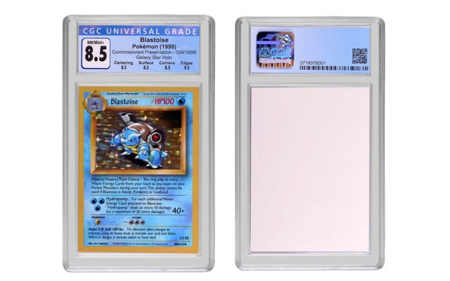 カメックスのポケモンカードが360,000ドルで売れた