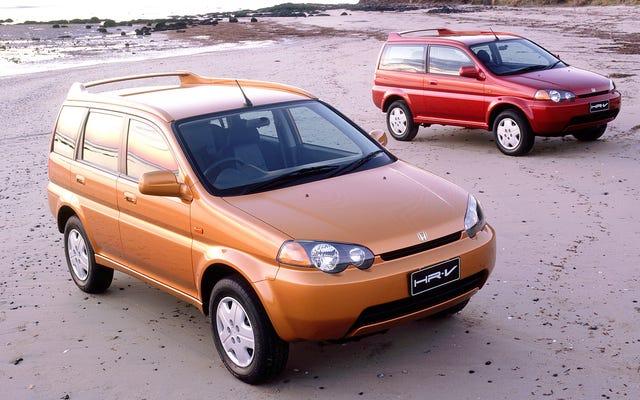 Mi piacerebbe farcela con una Honda HR-V di prima generazione