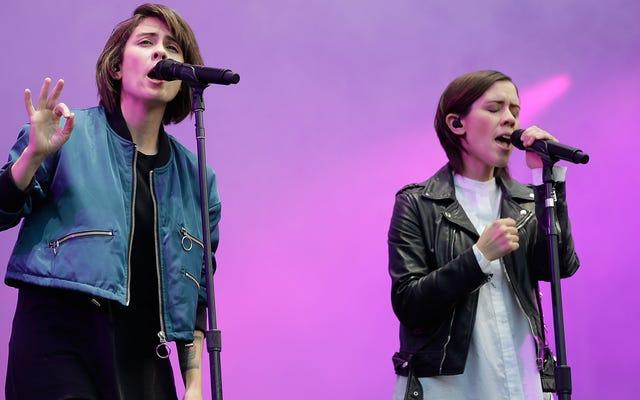 TeganとSaraは、新しい本の高校で10代の自分を許します