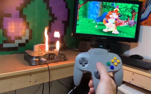 Enfin, une Nintendo 64 qui peut respirer le feu
