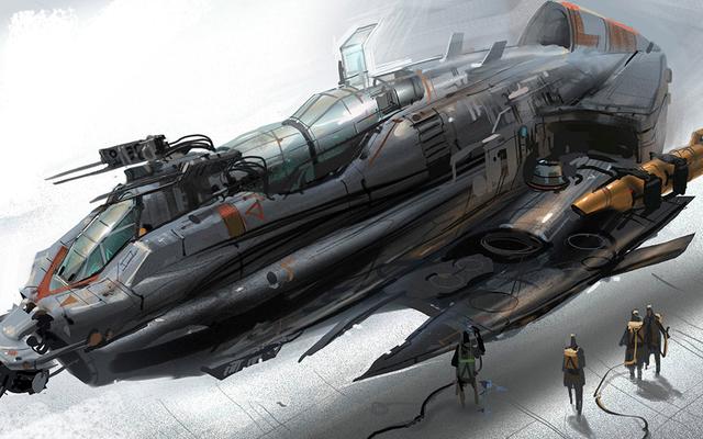 Découvrez certains des superbes travaux de conception de Star Wars: The High Republic