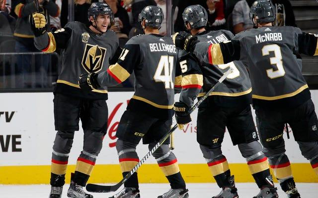 Vegas Altın Şövalyeleri Açıklanamaz Bir Şekilde Kazanmaya Devam Edin