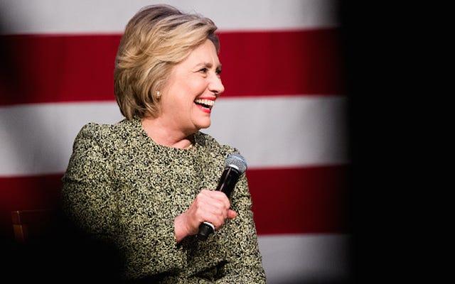 Pemeran Skandal Berpartisipasi dalam Penggalangan Dana untuk Hillary Clinton