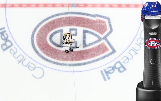 No puedes escapar de ser Manscaped, incluso en las pistas de la NHL: es como un Zamboni para tu ...