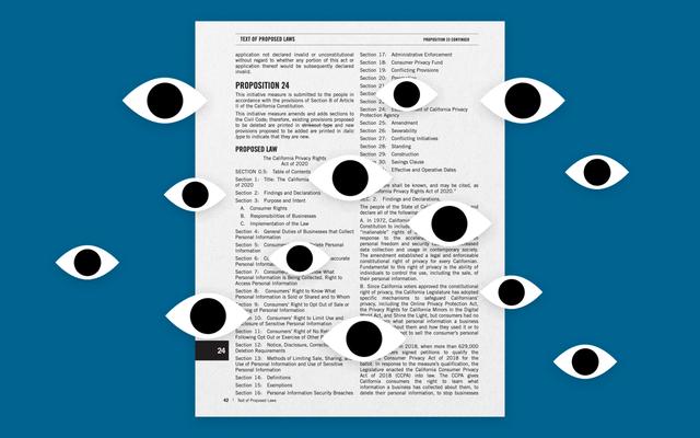 カリフォルニア州の提案24が、私たちのプライバシーをより良く、または破ることができる方法は次のとおりです。