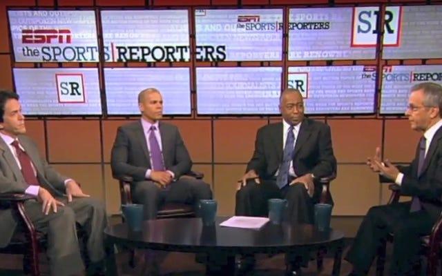 レポート:ESPNはスポーツレポーターをキャンセルしています