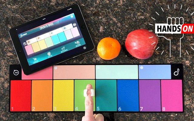 Spheroのセンサーリングはすべてをそわそわする指タッパー用の楽器に変えます