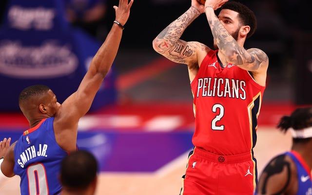 Lonzo Ball podría ser un mejor tirador de tres puntos que tu jugador favorito de la NBA