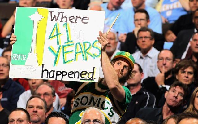 NBAチームを復活させるためのシアトルの取り組みは大きな打撃を受けました