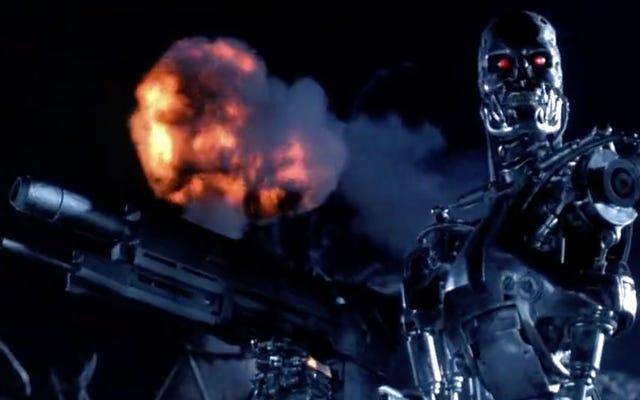 L'esercito americano teme che l'umanità sia di parte nei confronti dei mortali soldati cyborg a causa di film come Terminator