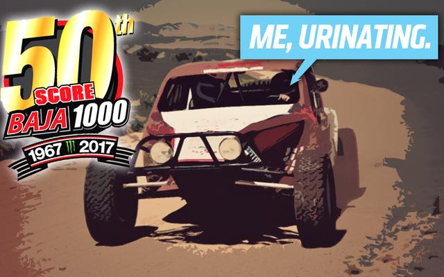 मैं बाजा में ड्राइव करने जा रहा हूं 1000 और मैं खुद को पेशाब करने की योजना बना रहा था