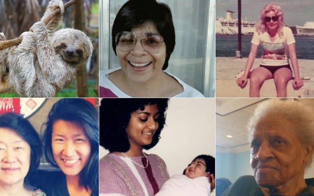 ผู้หญิงเหล่านี้คือผู้หญิงที่ช่วยแม่ของเราเลี้ยงดูเรา