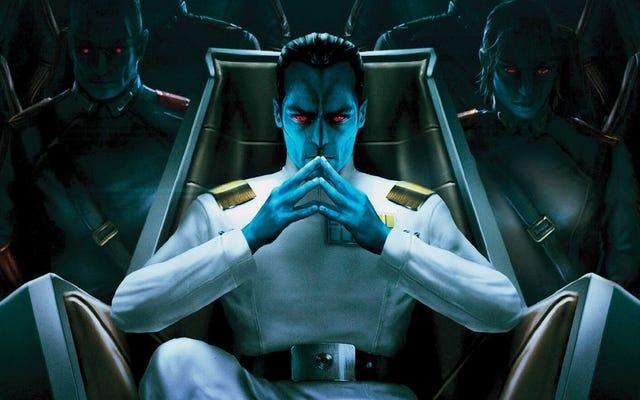 オープンチャンネル:彼の避けられないスターウォーズ映画でスローン大提督を演じるべきなのは誰ですか?