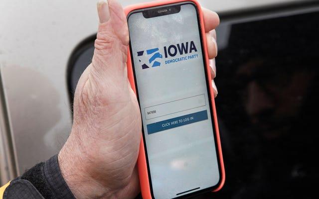 ネバダ州の民主党員はアイオワ州の災害後、すべてのアプリにノーと言う