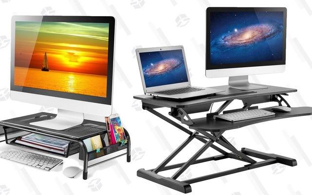 Mejore la ergonomía de su espacio de trabajo con esta oferta de Amazon de un día