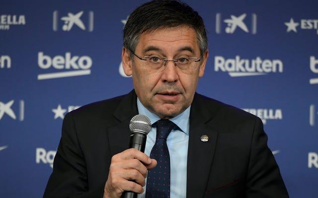 Est-ce dommage que le PDG, l'avocat et l'ancien président du Barça aient été arrêtés?