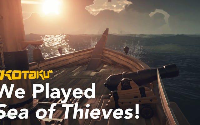 Sea of Thieves est préférable si vous l'utilisez également comme salle de chat