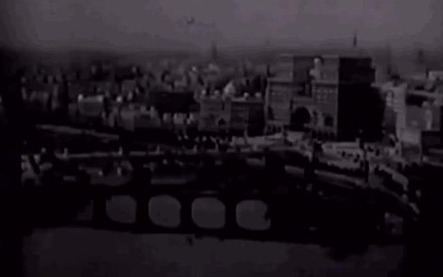 第二次世界大戦を予言した1929年の長らく失われたSF映画