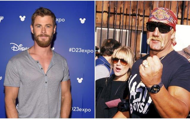 Anh sẽ làm gì đây, anh trai, khi Chris Hemsworth lao vào anh?