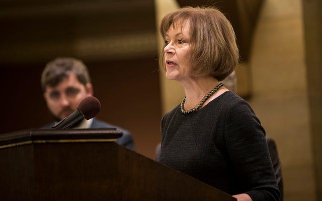 ミネソタ州副知事ティナ・スミスがアル・フランケンに代わって2018年に実行