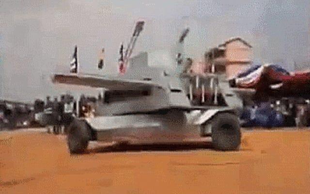 Bu Kesinlikle Çılgın Tank Tasarımının Ciddi Olup Olmadığını Anlayamıyorum
