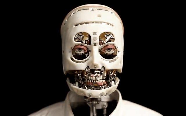 Disney Membuat Robot Tanpa Kulit Yang Dapat Menatap Langsung Ke Jiwa Anda Secara Realistis