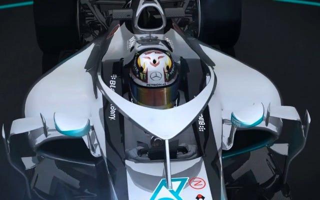 Les tests du cockpit fermé en Formule 1 montrent qu'il est beaucoup plus sûr