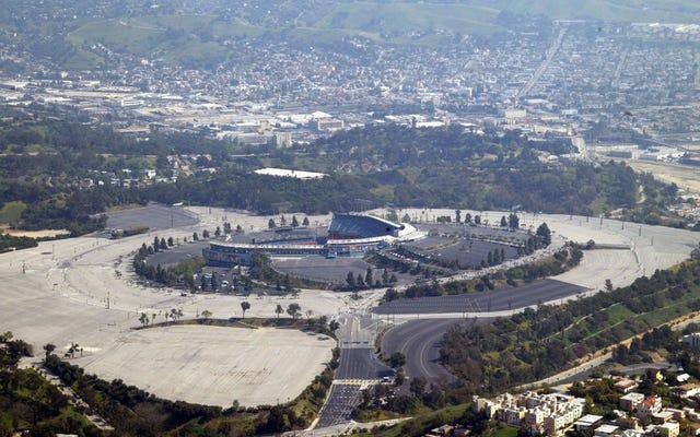 ロサンゼルスドジャースは、常にロサンゼルス全体のチームであるとは限りません。