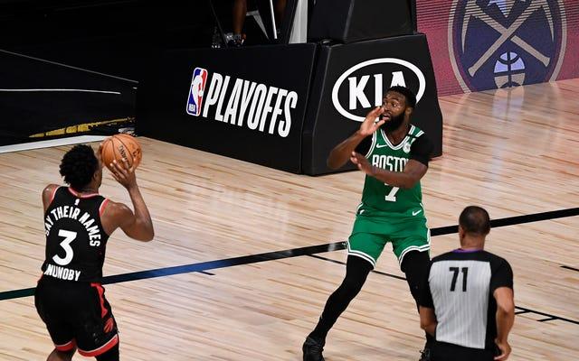 Les Raptors et les Celtics voudraient que ce soit une telle fin ...