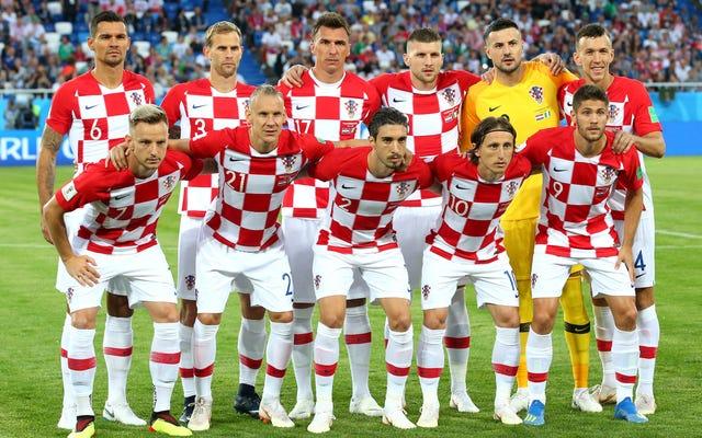 Estimado Croacia: Use sus uniformes de tablero de ajedrez extra-geniales en la final de la Copa del Mundo [Actualización]